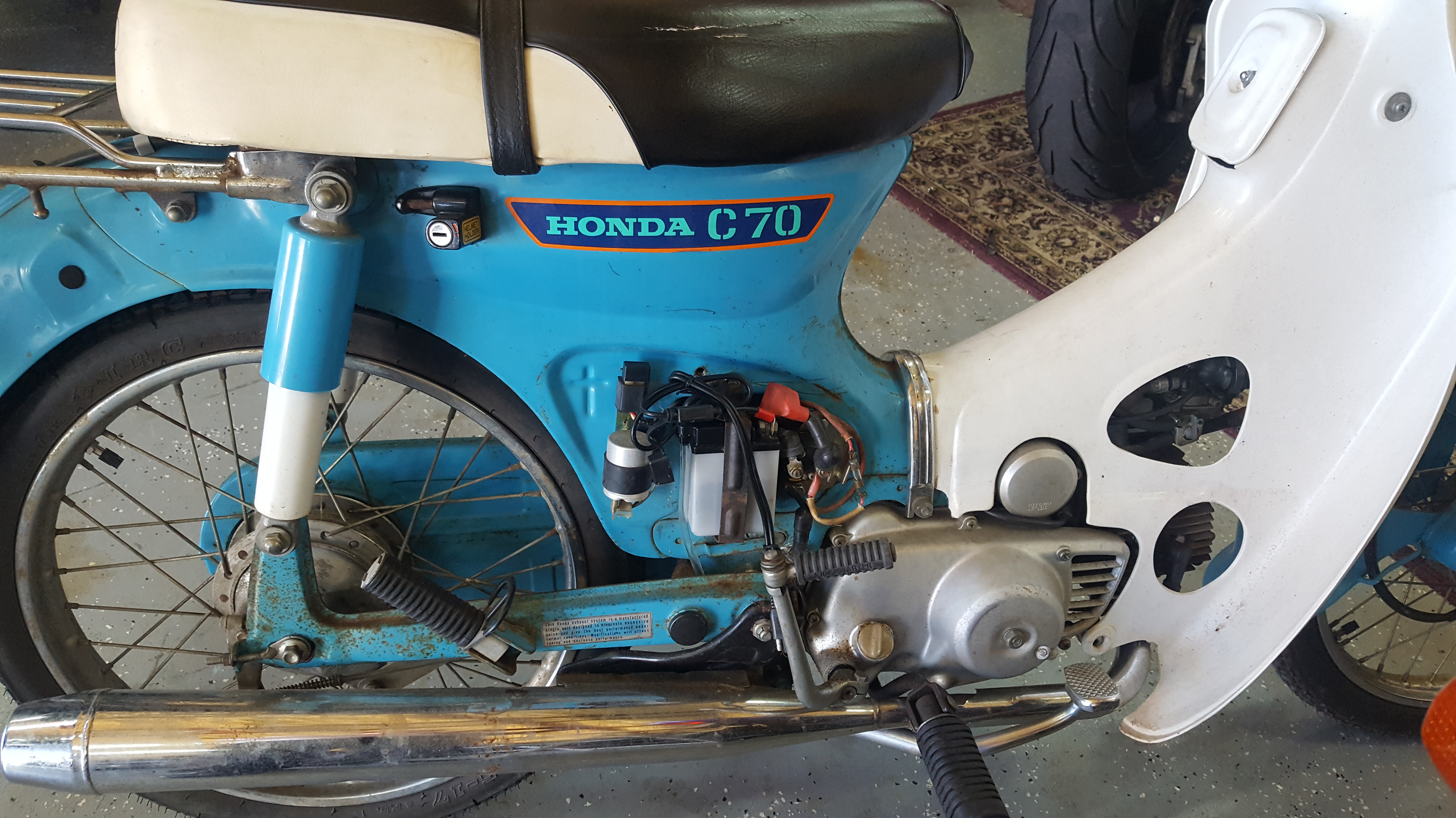 1980 honda c70 wiring c70 electric starter issue  1980  page 2 lilhonda com  c70 electric starter issue  1980