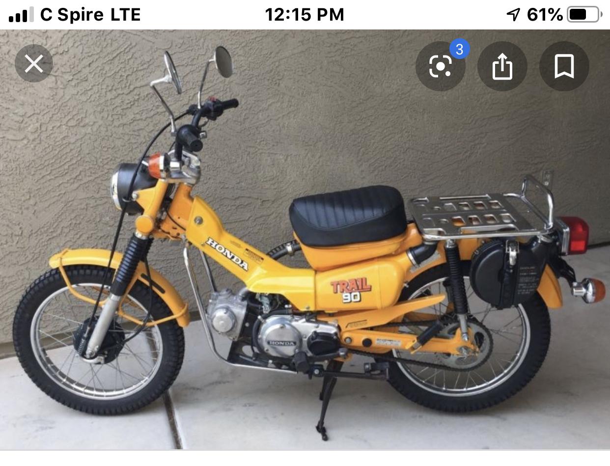 1978 Honda Ct90 Parts Lilhonda Com