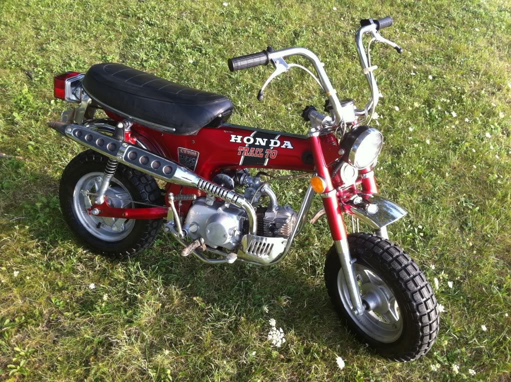 1972 honda ct70 h 4 speed lilhonda top speed on level ground is about 29 mph i checked the sprokets 14 on the motor and 44 on the rear tire are these the factory gears or did someone gear sciox Image collections
