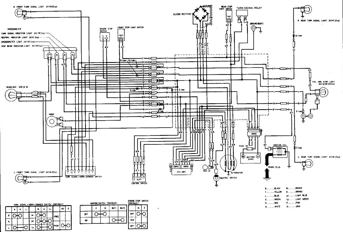 Honda Trail 110 Wiring Diagram - Wiring Diagram
