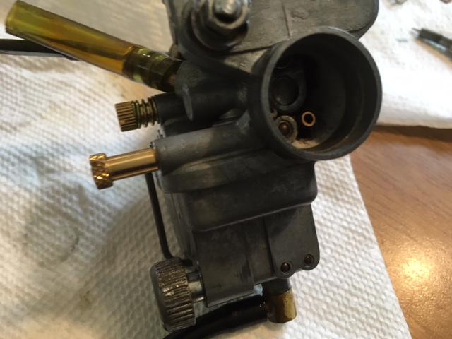 Carburator rebuild on 1969 Z50A K1   lilHonda com