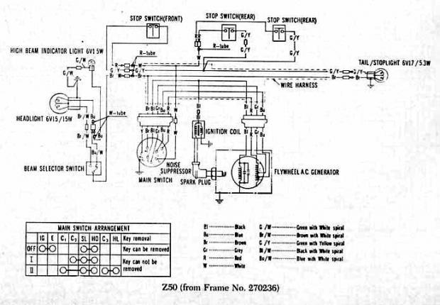 1972 honda z50 wiring diagram needed lilhonda com rh lilhonda com honda z50 wiring diagram honda z50 k3 wiring diagram